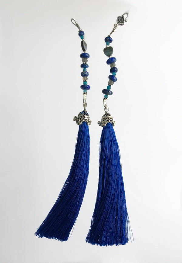 Royal Blue Tassel - adelina.world