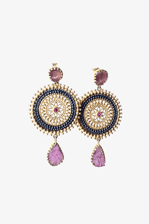 Magic disk Boho Earrings - adelina.world