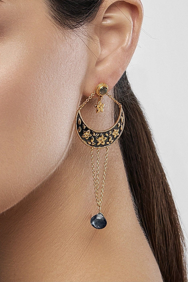 Midnight Dreams Boho Earrings - adelina.world