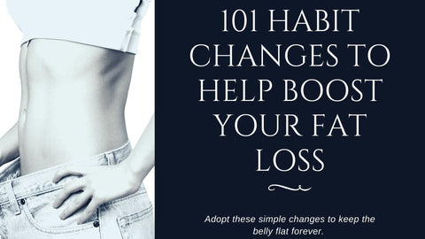 101 Small Habit Changes To Never Get Belly Fat! (Again)