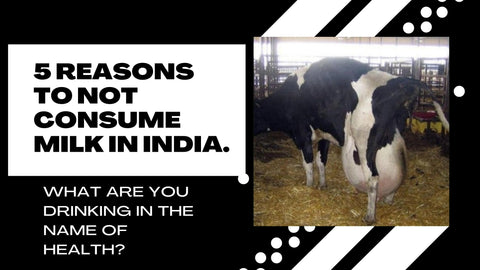 5 Reasons To Not Consume Milk In India