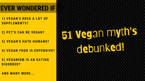 51 Vegan Myths Debunked | Roshni Sanghvi