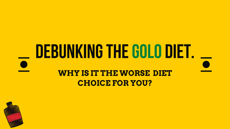Debunking GOLO Diet and why it doesn't work? | Roshni Sanghvi