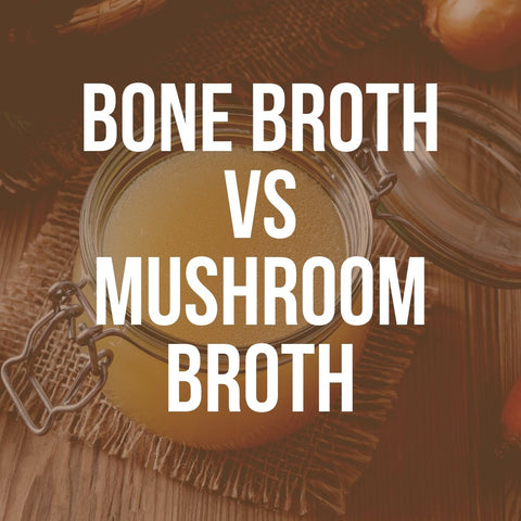 Mushroom Broth Vs. Bone Broth