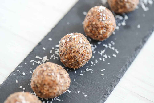 Plant Based Energy Balls Recipe | Roshni Sanghvi