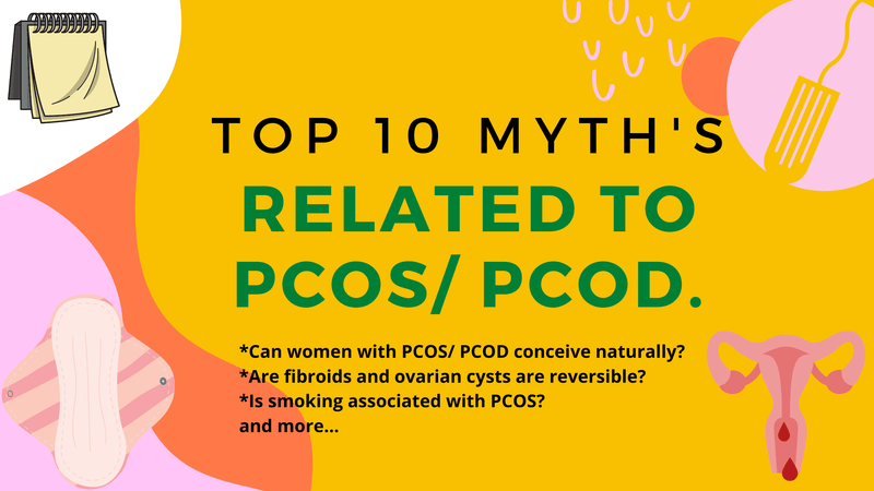 Top 10 PCOD and PCOS Myths (Debunked). | Roshni Sanghvi