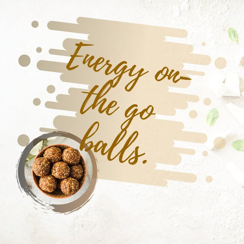 Vegan Energy Balls Recipe | Roshni Sanghvi