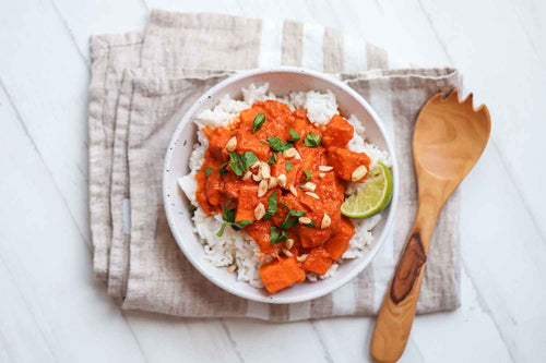 Vegan Sweet Potato Curry Recipe | Roshni Sanghvi