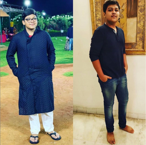 Indian vegan transformation