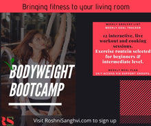Bodyweight Bootcamp. - Roshni Sanghvi