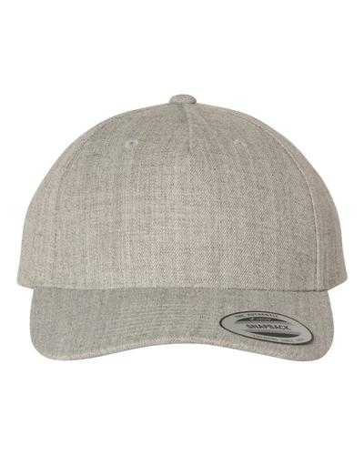 YUPOONG - 5 PANEL CLASSICS™ WOOL BLEND CAP - 5789M