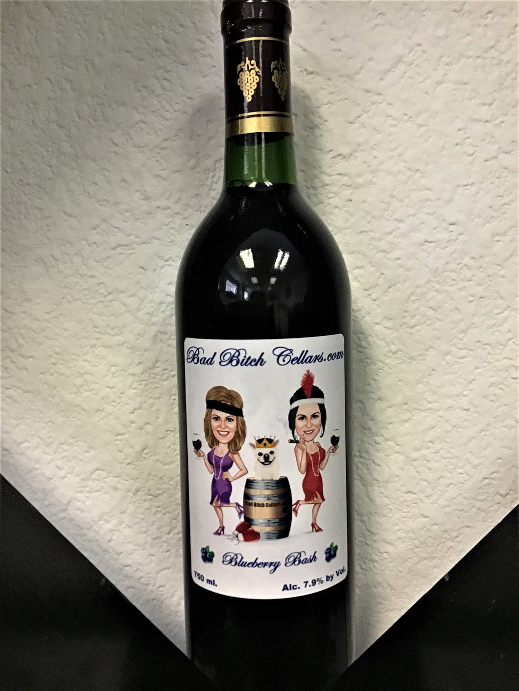 BLUEBERRY BASH-BLUEBERRY SHIRAZ  (750 ml.)