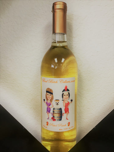PEACH CHARDONNAY-PISTOL PEACH  (750 ml.)