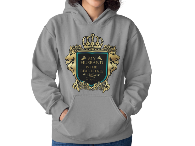 My Husband is the Real Estate King Women Hoodie
