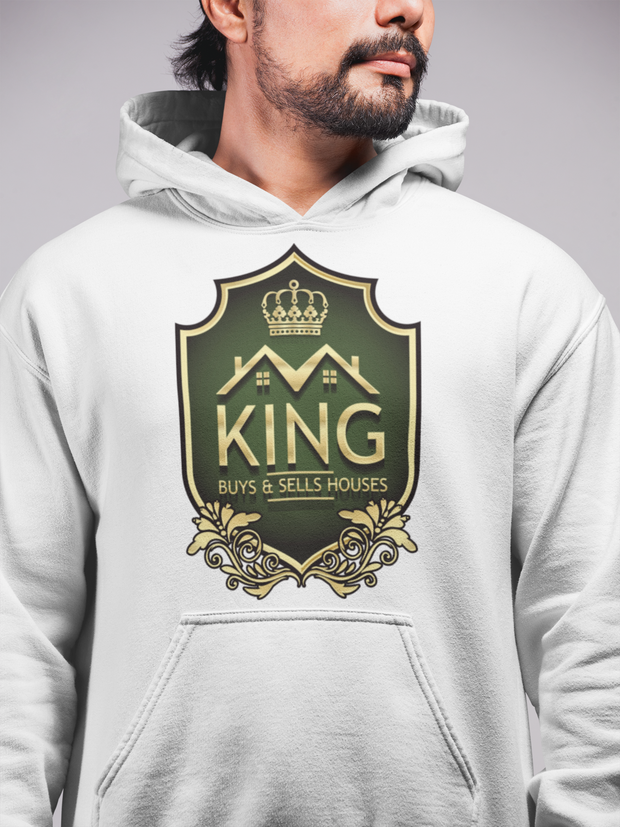 KING Buys and Sells Houses Stylish Men Realty Hoodie
