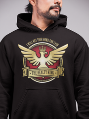 Realty King Real Estate Men Hoodie