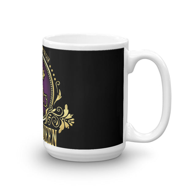 Realty Queen Real Estate black Mug
