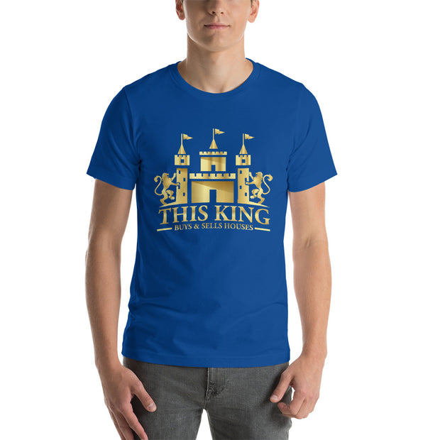 THIS KING Realtor Buyer Seller Wholesaler Real Estate Short-Sleeve T-Shirt