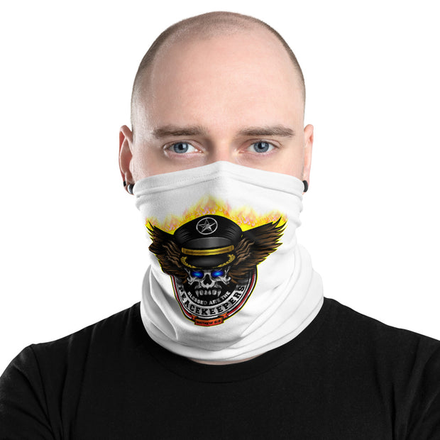 Blessed Are The Peace Keepers LAW ENFORCEMENT Safety Mask  (Matthew 5:9)