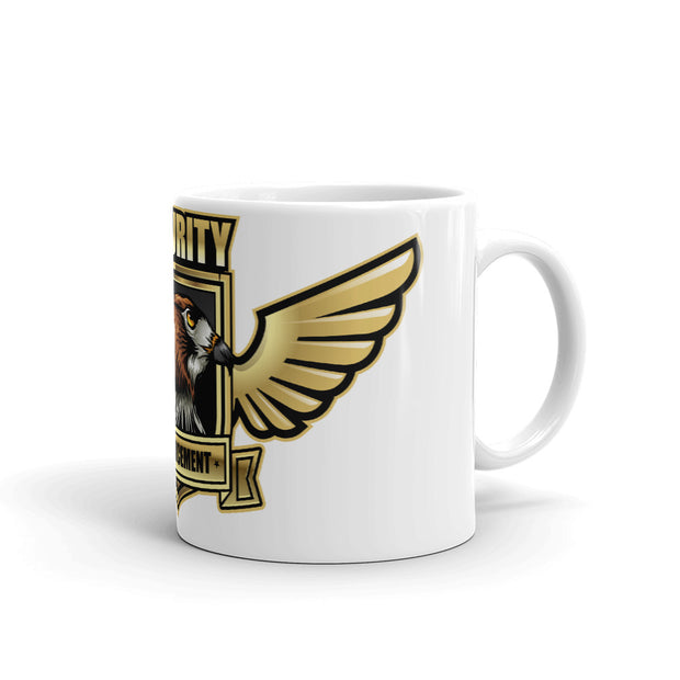 Security Design White Mug