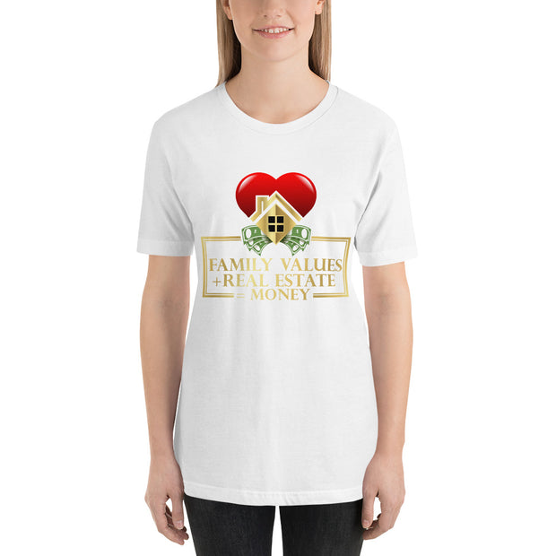 Family Values Short-Sleeve T-Shirt for Women