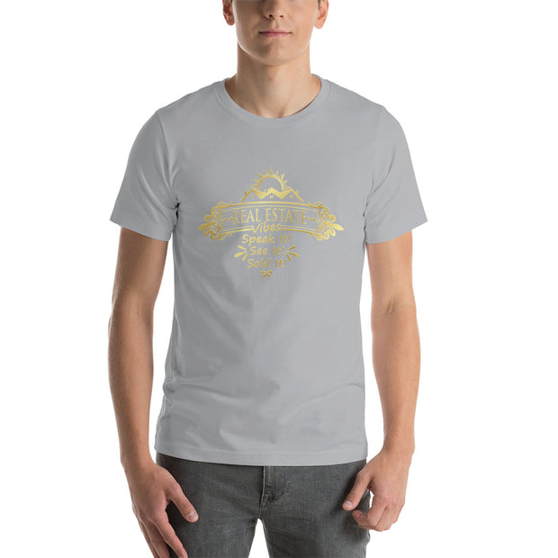 Real Estate Vibes Short-Sleeve T-Shirt for Men