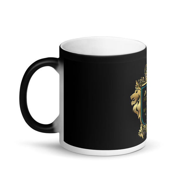 My Husband is My King Real Estate Black Magic Mug