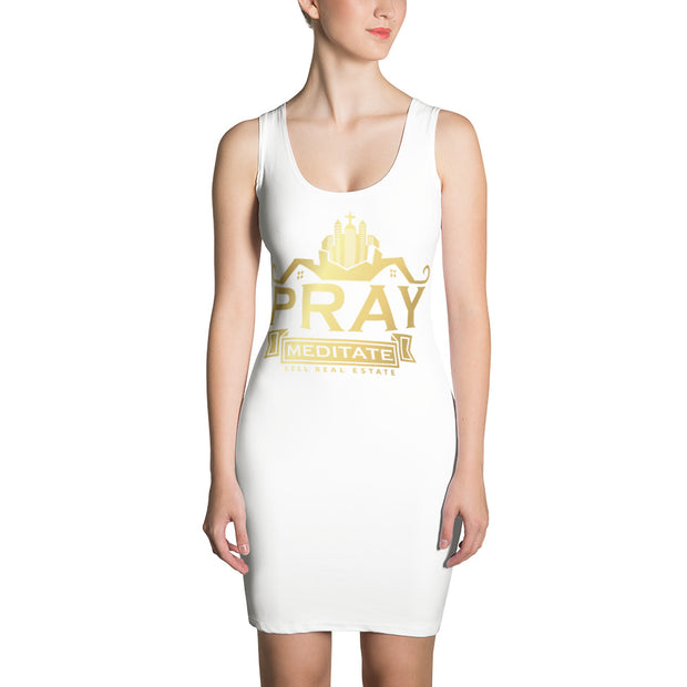 Pray Meditate Sell Real Estate Dress
