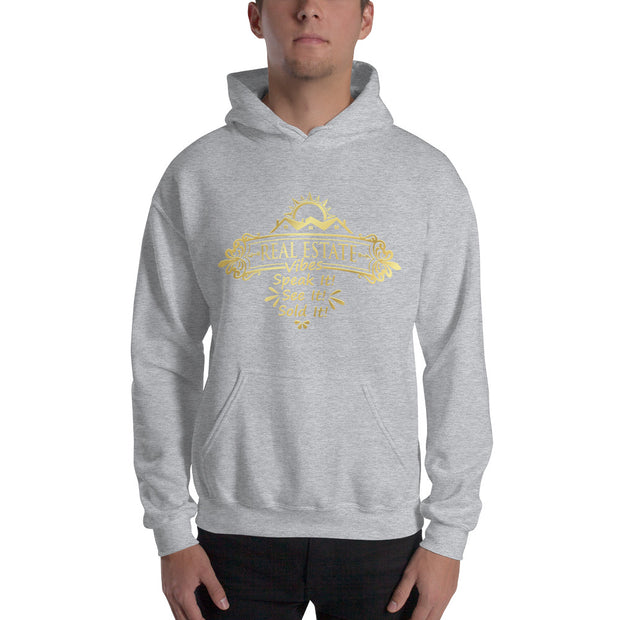 Real Estate Vibes Hoodie for Men