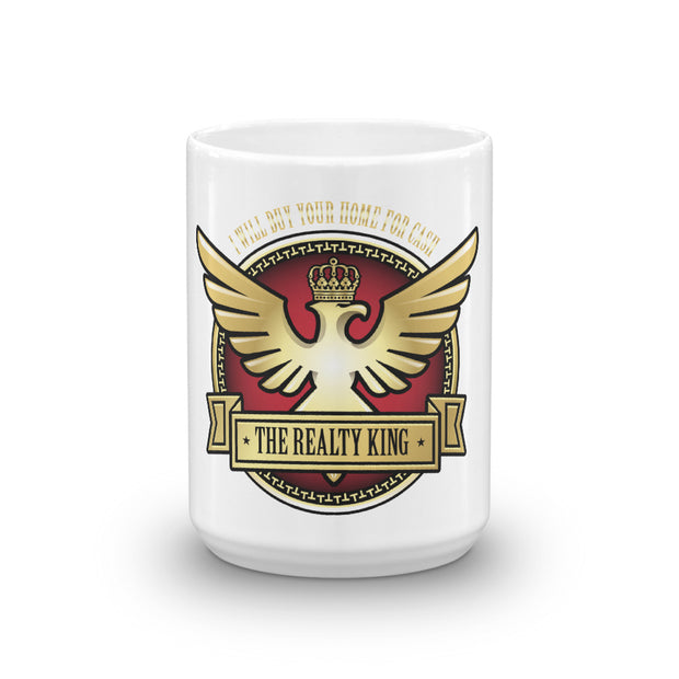 REALTY KING Magic White Mug