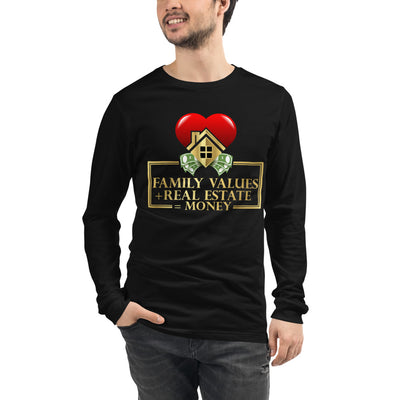 Family Values Long Sleeve Tee for Men