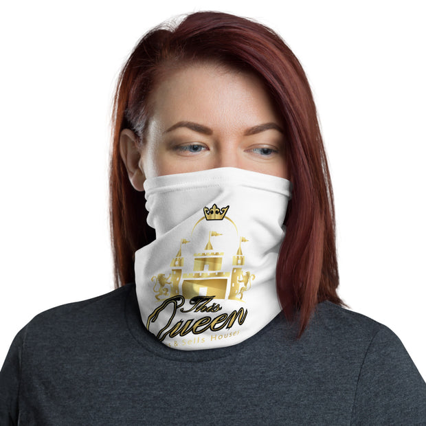 This QUEEN Buys & Sells Houses Real Estate COVID-19 Safety Mask