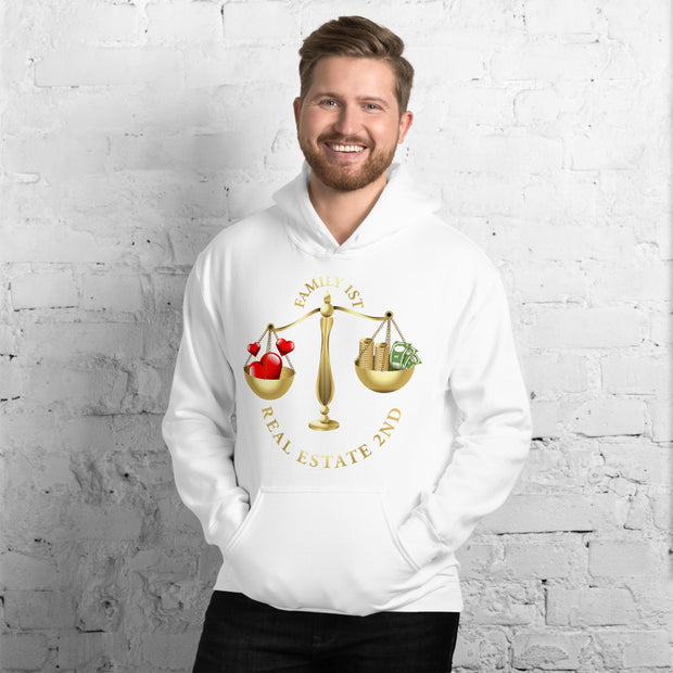 Real Estate 2nd Family First Men Hoodie