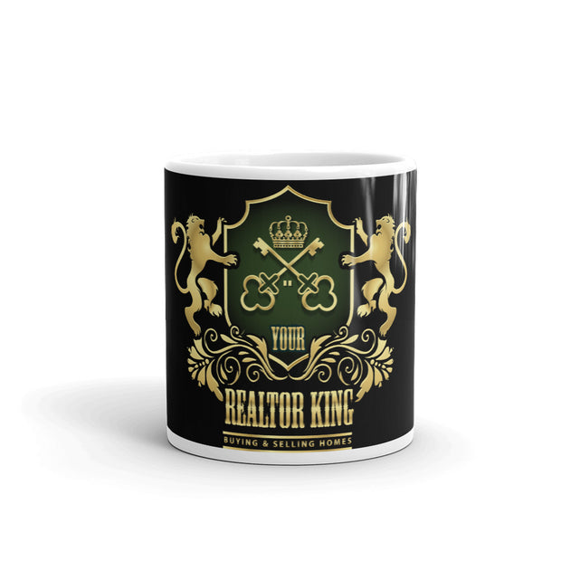 Your Realtor King Real Estate black Mug