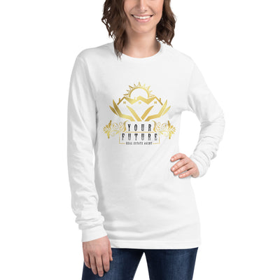 Future Real Estate Agent Long Sleeve Tee for Women
