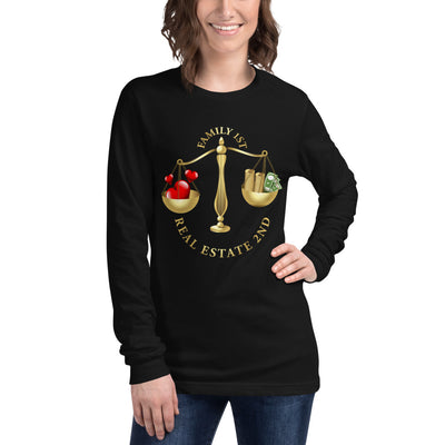 Family First  Family First Real Estate Second Long Sleeve Tee for Women