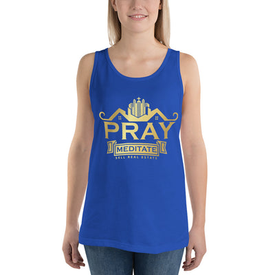 Pray Meditate Real Estate Women Tank Top