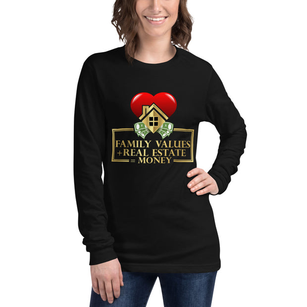 Family Values Long Sleeve Tee for Women