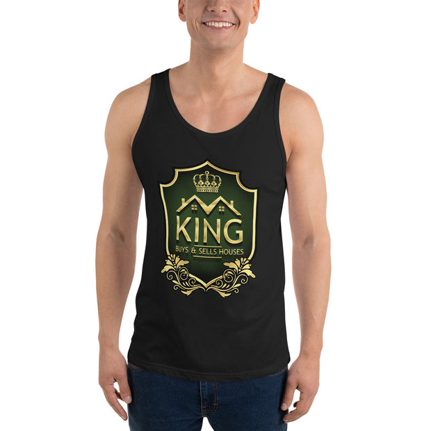 King Real Estate Men Tank Top