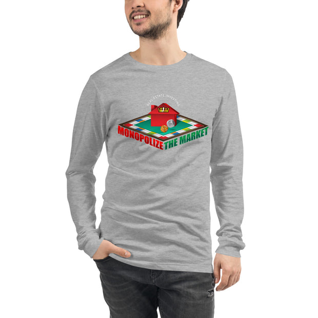 Monopolize The Market Long Sleeve Tee for Men