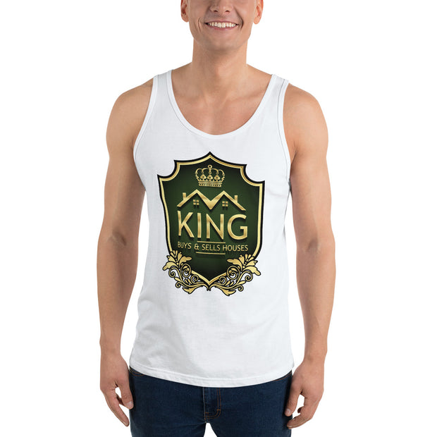 KING Realtor Real Estate Wholesaler Tank Top