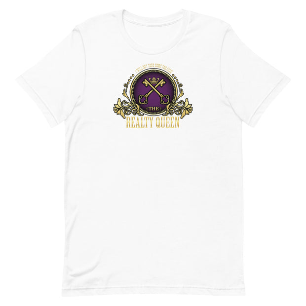 """The Realty Queen"" Short-Sleeve Unisex T-Shirt"