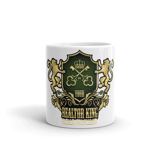 Realty Real Estate Realtor King white Mug