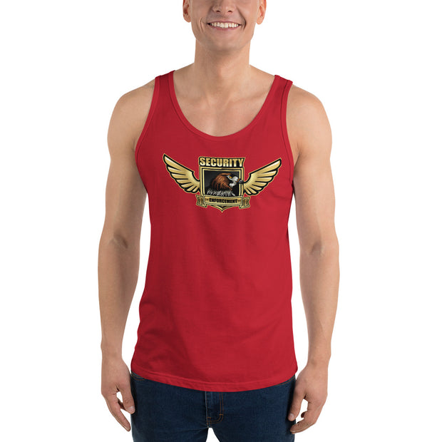 Security Officer Patrol Guard Eagle Unisex Tank Top