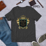 """MY HUSBAND IS REAL ESTATE KING""Short-Sleeve Unisex T-Shirt"