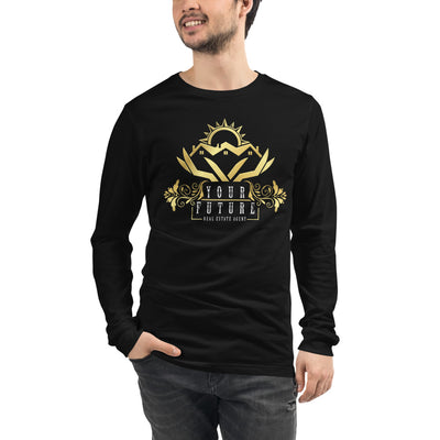 Future Real Estate Agent Long Sleeve Tee for Men