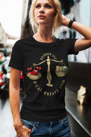 Family First Real Estate Second Short-Sleeve T-Shirt for Women