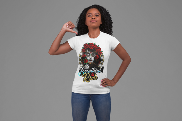 Beautiful & Rich Women's Empowerment  t-shirt