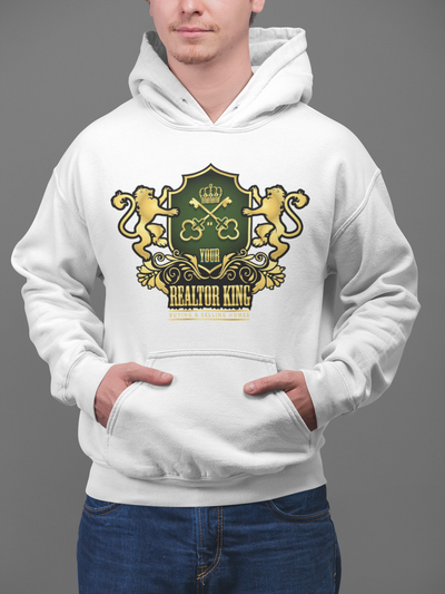 The Realtor KING Men Hoodie