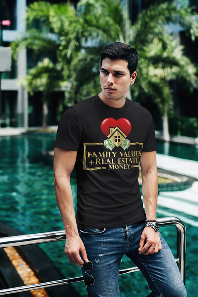 Family Values Short-Sleeve T-Shirt for Men